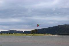 Ressac de cerf-volant photo libre de droits