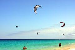 Ressac de cerf-volant Image libre de droits