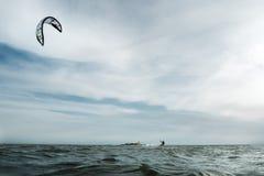 Ressac de cerf-volant dans Sanctipetri Images libres de droits