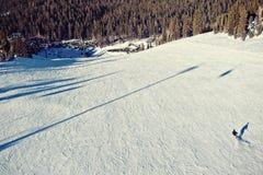Ressac de neige Photo libre de droits