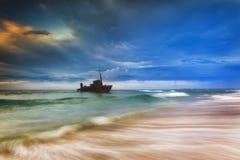 Ressac de Sygna 2 Newcastle de mer Image stock