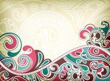 Ressaca abstrata Imagem de Stock