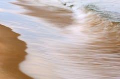 Ressaca de Michigan de lago Foto de Stock Royalty Free