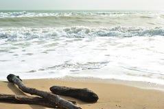 Ressaca do mar Fotos de Stock Royalty Free