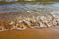 Ressaca do mar Imagem de Stock