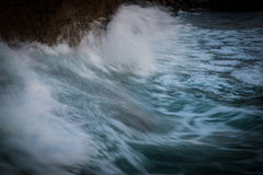 Ressaca do oceano Imagem de Stock Royalty Free