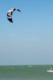 Ressaca do papagaio ou placa do papagaio, esporte de água Imagem de Stock
