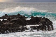 A ressaca em Maui Imagem de Stock