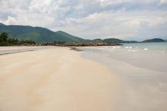 Ressaca no mar do Sul da China Fotos de Stock Royalty Free