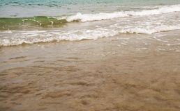 Ressaca no mar do Sul da China Fotografia de Stock Royalty Free