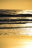 Ressaca no nascer do sol Imagens de Stock Royalty Free