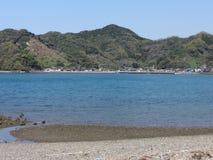 Ressort à la mer de Shiranui Photographie stock