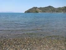 Ressort à la mer de Shiranui Image libre de droits