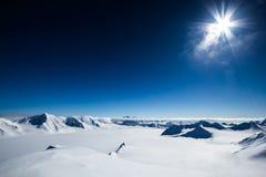 Ressort arctique dans le Spitzberg du sud Photographie stock