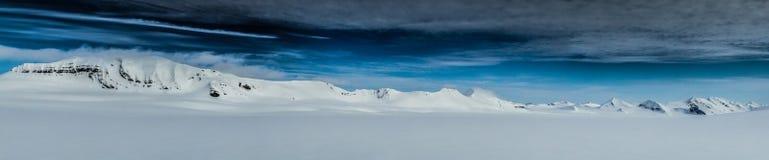 Ressort arctique dans le Spitzberg du sud Image libre de droits