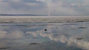 Ressort au bord de la mer Image libre de droits