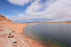 Ressort au lac Powell Photo libre de droits