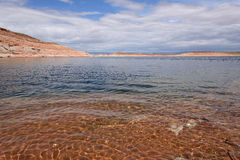 Ressort au lac Powell Photographie stock