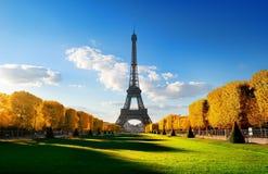 Ressort chez Champs de Mars en automne Image libre de droits