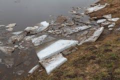 Ressort Dérive de glace photo libre de droits