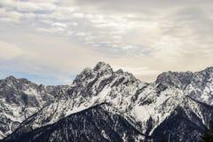 Ressort d'iat d'Alpes de Julain Images stock