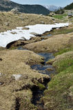 Ressort dans la vallée de Madriu-Perafita-Claror Photo libre de droits