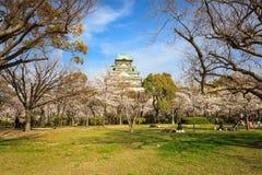 Ressort dans le château d'Osaka photos libres de droits