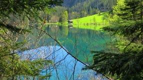 Ressort dans les Alpes Photographie stock