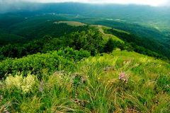 Ressort dans les montagnes Images stock