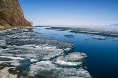 Ressort dans les sud du lac Baïkal Photographie stock