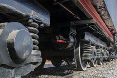 Ressort de atténuation locomotif Photo libre de droits