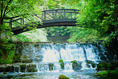 Ressort de la rivière de Bosna Images stock