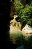 Ressort de nature d'été de Rhodos Grèce Image libre de droits