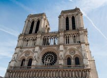 Ressort de Notre Dame, Paris Photos libres de droits