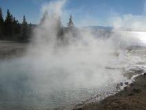 Ressort de parc de Yellowstone Image libre de droits