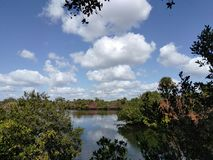 Ressort en Floride Image libre de droits