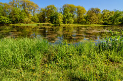 Ressort en Iowa Image libre de droits