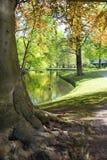 Ressort en parc Image libre de droits