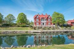 Ressort en Suède photographie stock