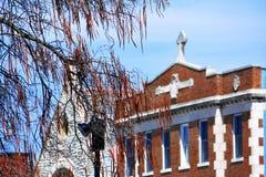 Ressort et Cincinnati Image libre de droits