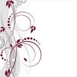 Ressort floral de fond de vecteur images libres de droits