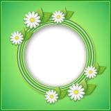 Ressort ou fond d'été avec la fleur décorative Photo libre de droits