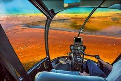 Ressort prismatique grand d'hélicoptère Photos libres de droits