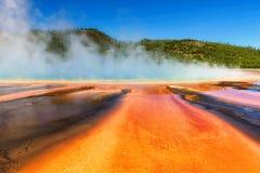 Ressort prismatique grand dans Yellowstone, le Wyoming Photographie stock libre de droits