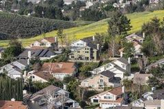 Ressort suburbain Photo libre de droits