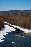 Ressort sur la rivière Image libre de droits