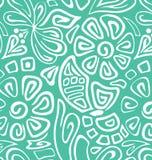 ressort vert blanc sans couture Photos stock