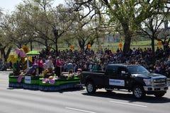 2016 ressortissant Cherry Blossom Parade dans le Washington DC Photographie stock libre de droits