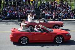 2016 ressortissant Cherry Blossom Parade dans le Washington DC Photos stock