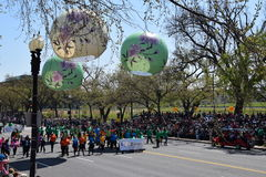 2016 ressortissant Cherry Blossom Parade dans le Washington DC Images stock